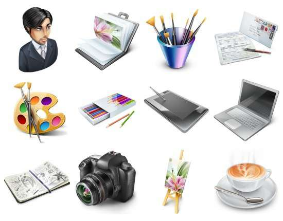 seticonos e1283525549317 12 iconos para diseñar tu portfolio