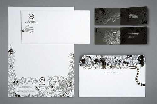 35 diseños de papel comercial para inspirarse
