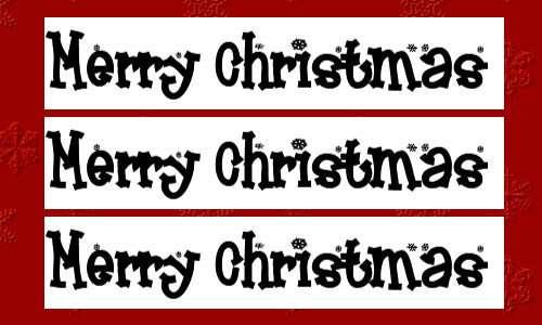 christmas fonts 10 20 Tipografías para Navidad