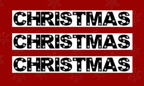 christmas fonts 11 20 Tipografías para Navidad