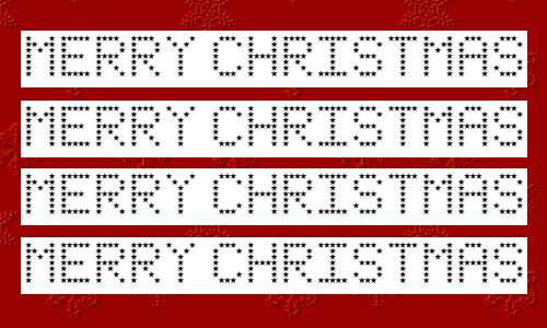 christmas fonts 13 20 Tipografías para Navidad