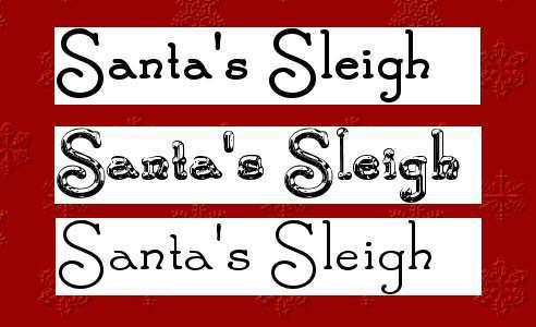christmas fonts 14 20 Tipografías para Navidad