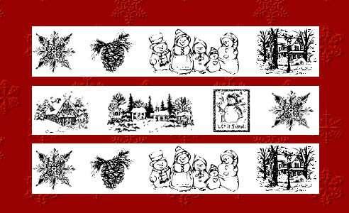 christmas fonts 20 20 Tipografías para Navidad