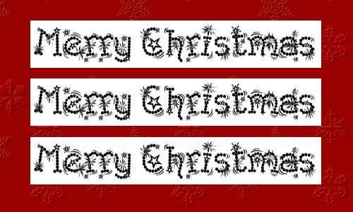 christmas fonts 7 20 Tipografías para Navidad