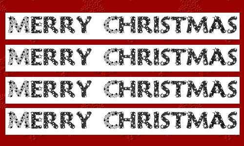 christmas fonts 8 20 Tipografías para Navidad