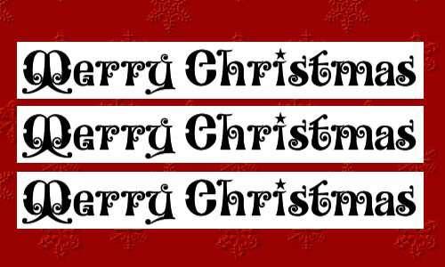 christmas fonts 9 20 Tipografías para Navidad
