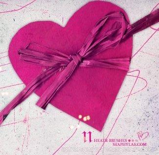 Pinceles para San Valentín 2011
