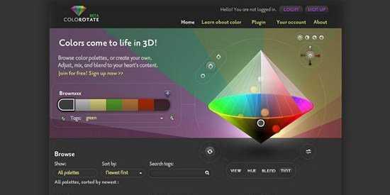 15 Herramientas gratuitas para crear paletas de colores.