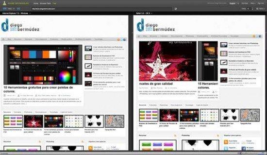 Adobe Browserlab: Comparar nuestra web en distintos navegadores
