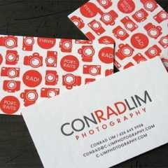 photographers business cards 361 240x240 37 Tarjetas de visita para fotógrafos