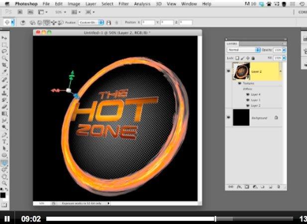 Trabajar con 3D en Photoshop