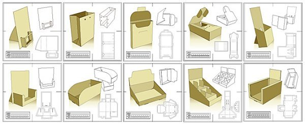 30 Sets de packaging para descargar