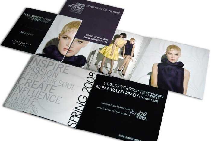 11 Ejemplos de trípticos y folletos para inspirarse